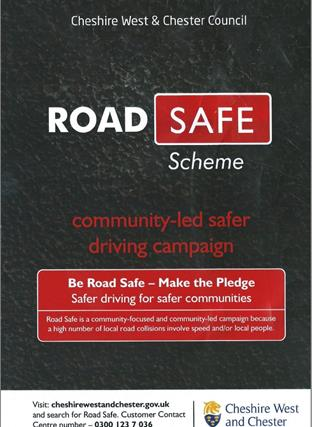 Road Safety leaflet front