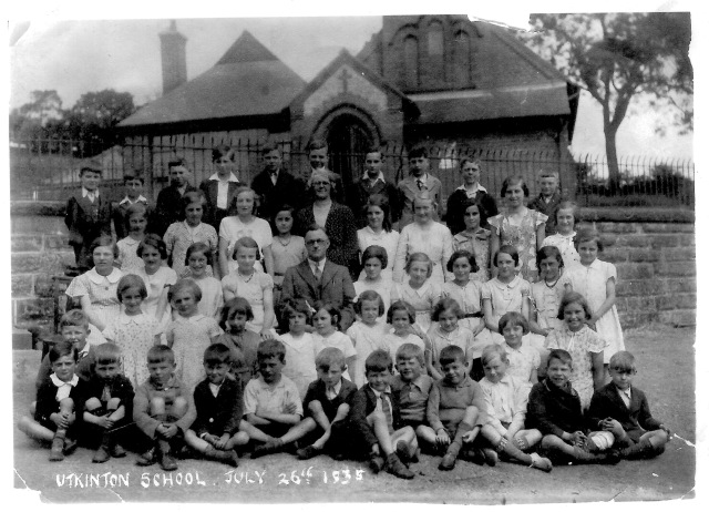 Utkinton School July 1935