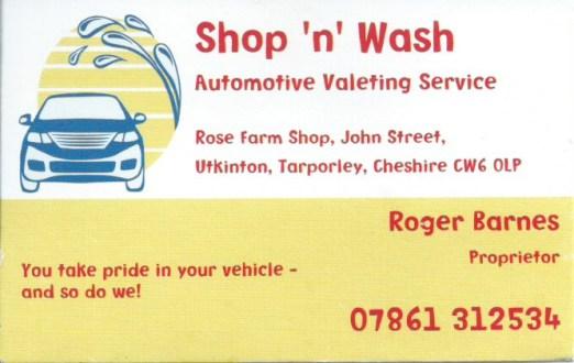 Shop ,n Wash