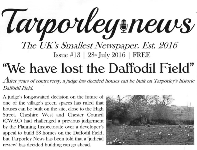 Tarporley News