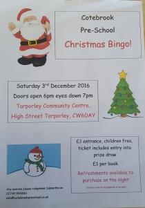 cotebrook-pre-school-christmas-bingo