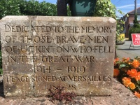 Utkinton War Memorial - South
